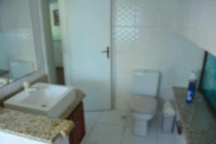 Banheiro da suíte do terceiro andar.