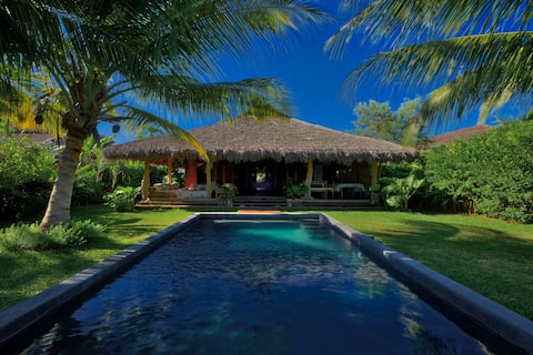 All-inclusive beach house with full staff and pool