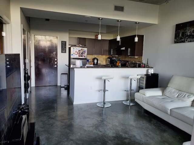 Downtown Luxury Condo with Parking Included!!!!