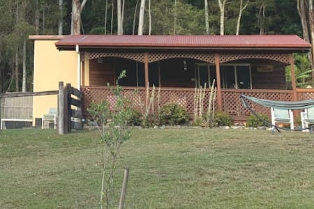 Ashtons Eco retreat private cabin in the forest