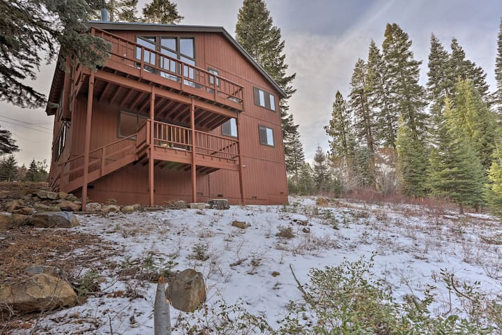 This home is conveniently located minutes from the Tahoe Donner Ski Area.