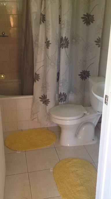 Baño privado, ducha tina, agua caliente