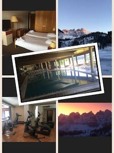 Ski in and out in Champoussin - Val-d'Illiez - Bed & Breakfast