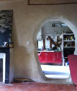 Chambre privée dans maison atypique - Marçon - Hus