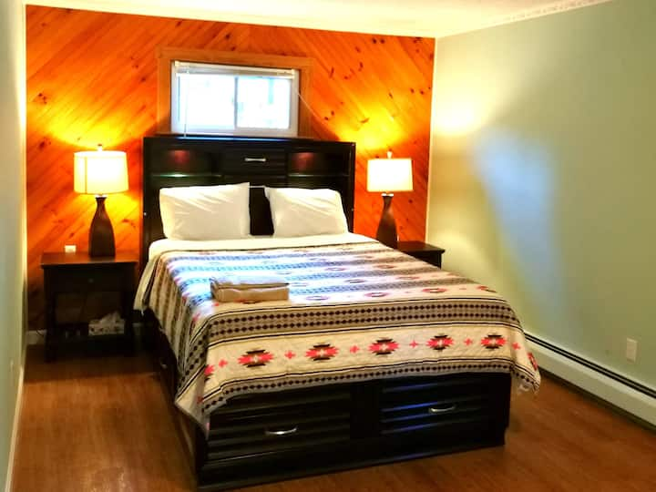 Master Bedroom in a Beach Community
