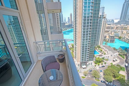 Stylish 1BDR in Downtown with Balcony