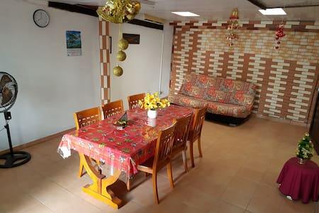 Maison créole - cité Thémire - Cayenne - Townhouse