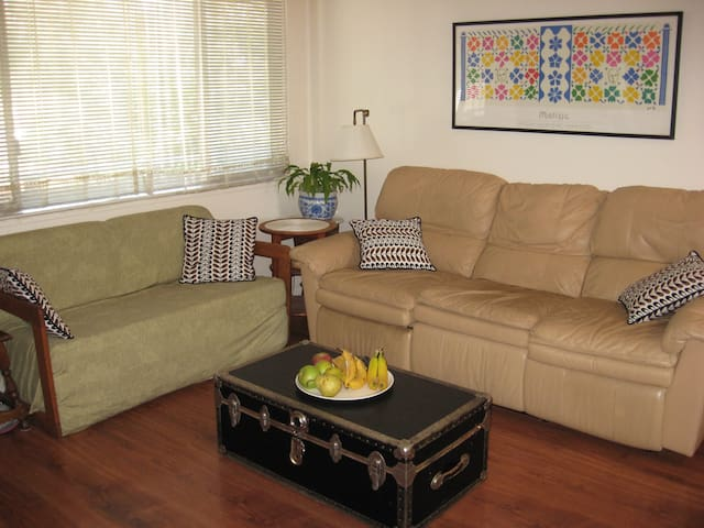 Quiet apartment with deck and pool - Corte Madera - Apartamento