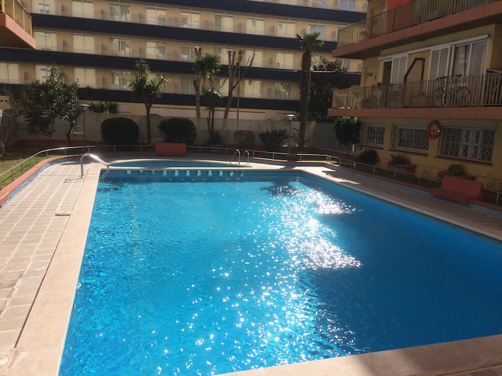 Appartement in Lloret Mar up to 5p