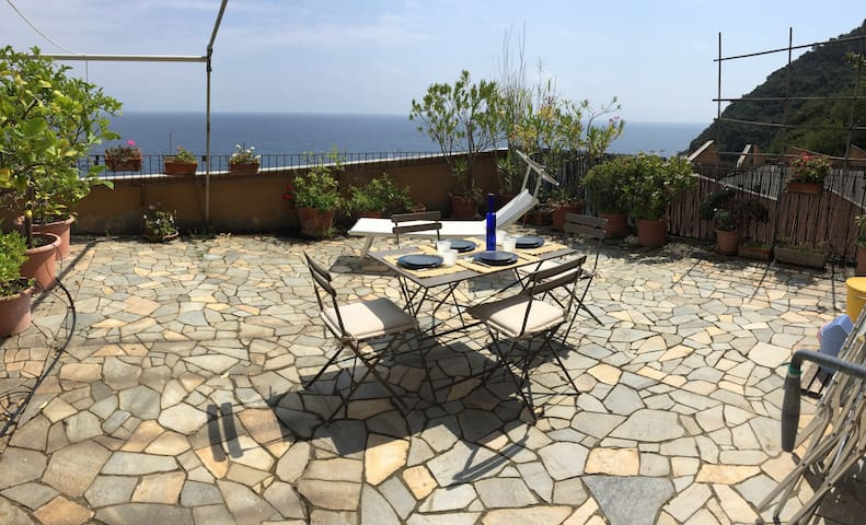 Una terrazza sul mare - Noli - Apartament