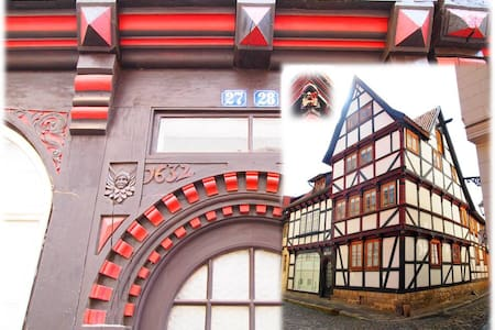 Wohnen im Fachwerk von 1632 - Zentrum Quedlinburg - Quedlinburg - อพาร์ทเมนท์