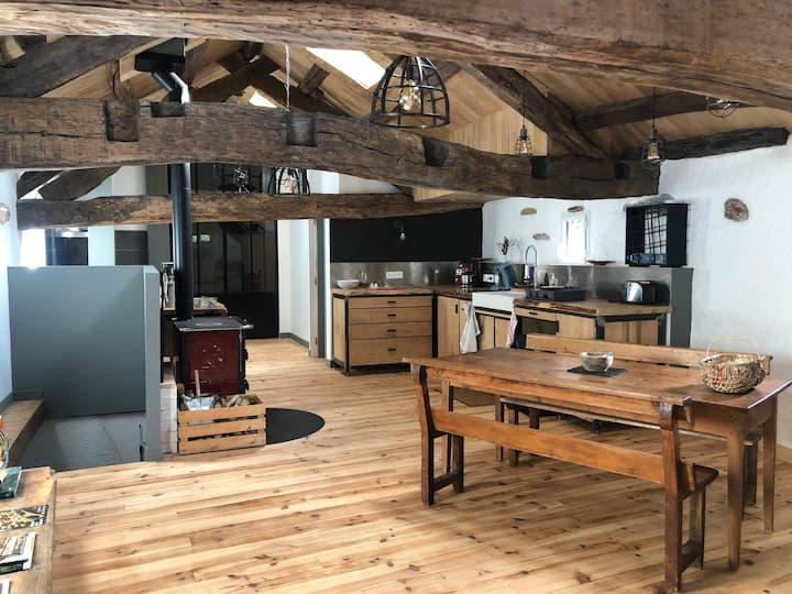 Gîte 70m² dans petit coin de nature en Occitanie