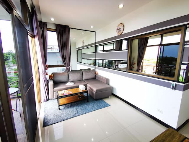 Nai Harn beach, New 1 bdr with kitchen (50 sq.m.)