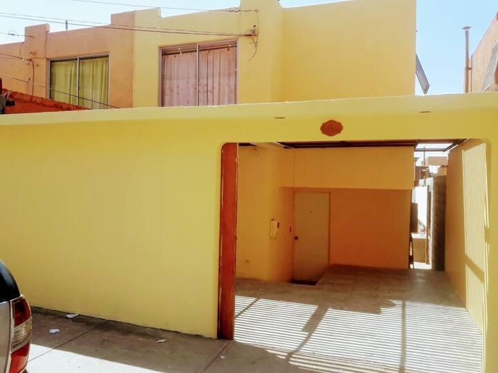 Acogedora casa en la ciudad mas desértica, Arica.