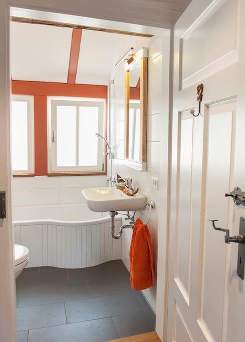 Duschwanne mit WC