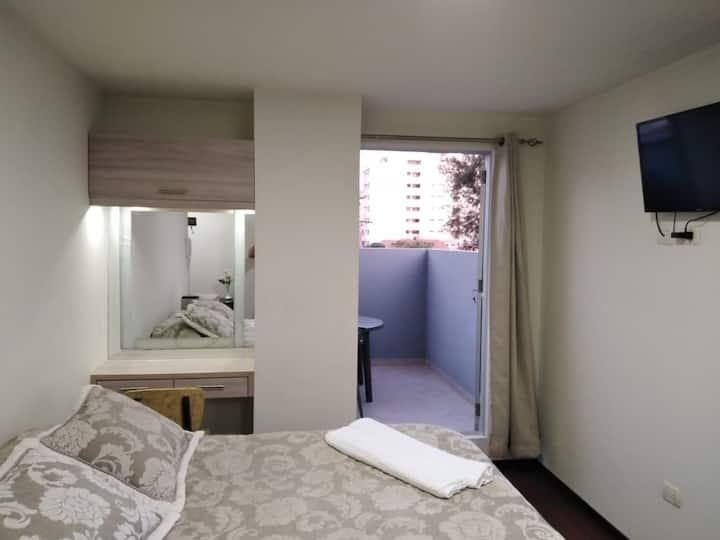 Apartamento Cálido y seguro .Zona  Recoleta!!