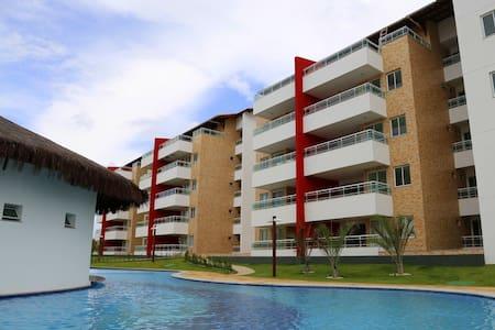 Apartamento 3 quartos Porto das Dunas frente mar. - 阿基拉斯 (quiraz) - 公寓