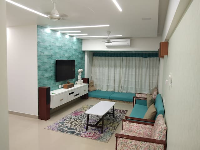 Newly built Designer 3 Bhk flat in Mira road