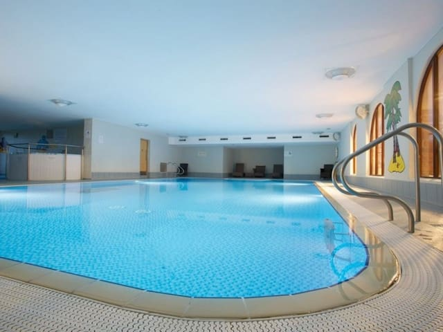 Relax in the complimentary pool, hot tub, sauna or steam room at the end of a long day