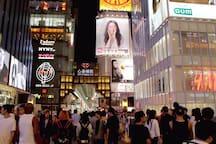 #6 Osaka Center Hostel★難波★道頓堀 30S★Easy to Airport