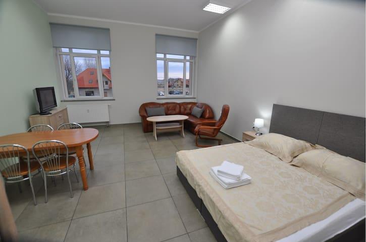 Apartament 42 m2 u podnóża Gór Sowich