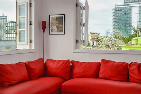 Hostal Zaza, Bright Room, City Center Vedado - La Habana