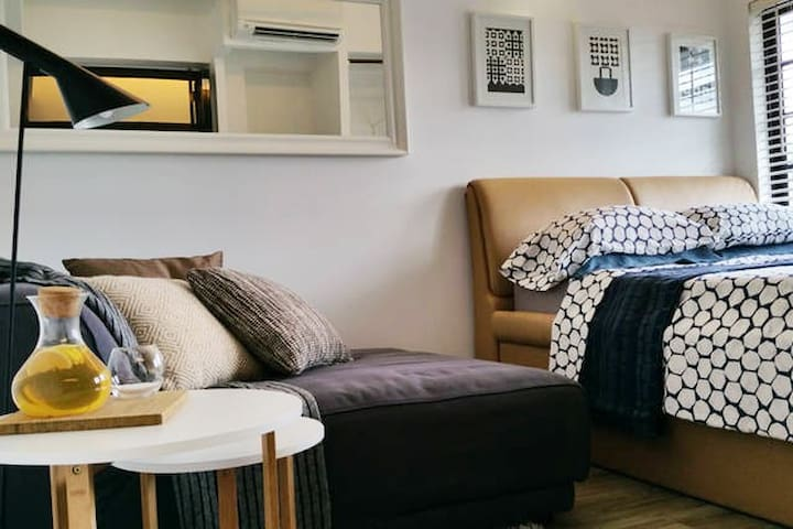 M - Beautiful, Quiet City Apartment - Singapura - Apartemen