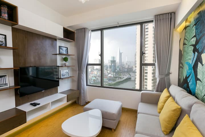 Goby home 8-2br*Rivergate/Ben Thanh-infinity pool