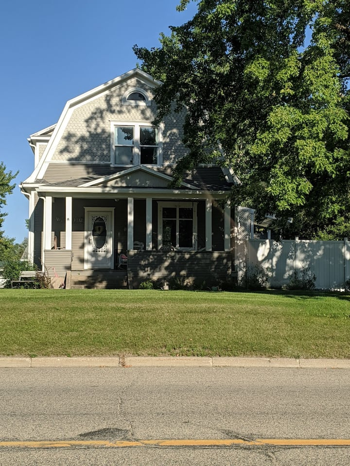 Historical 100 year old home with all  amenities