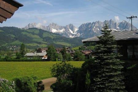 4 Wohnungen für 12 Personen in einem Haus - Reith bei Kitzbühel - Muu