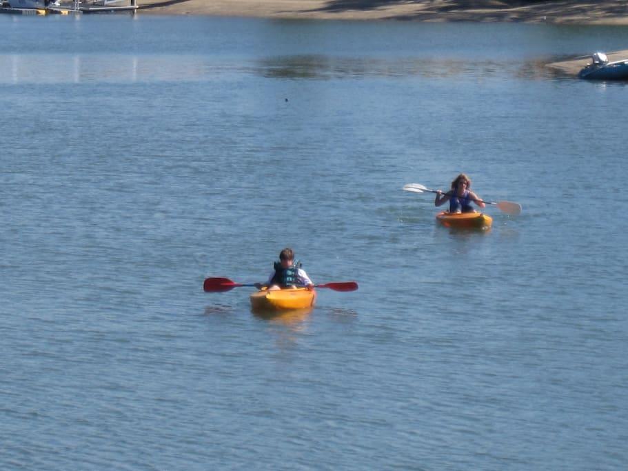 Kayak & Tinny Hire