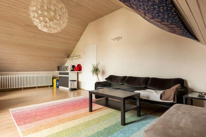 Zwei Zimmer, Bad und Balkon - Niederkassel - Casa
