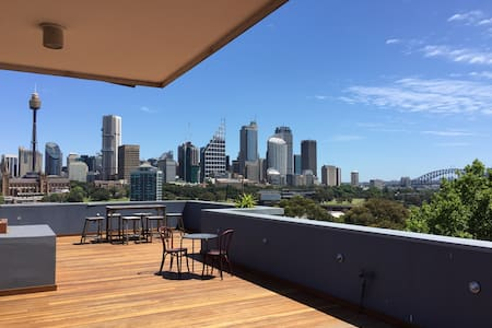 Terrace Apartment with City Views - Potts Point - Lägenhet