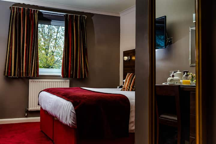 A stylish and comfortable room in fantastic hotel