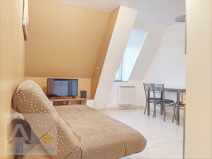 Beau Studio cosy , côté mer / cozy seaside flat