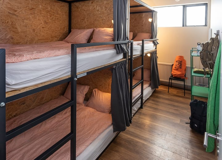 Double Bunk in 4 Bedded Dorm *VIBRANT Hostel*