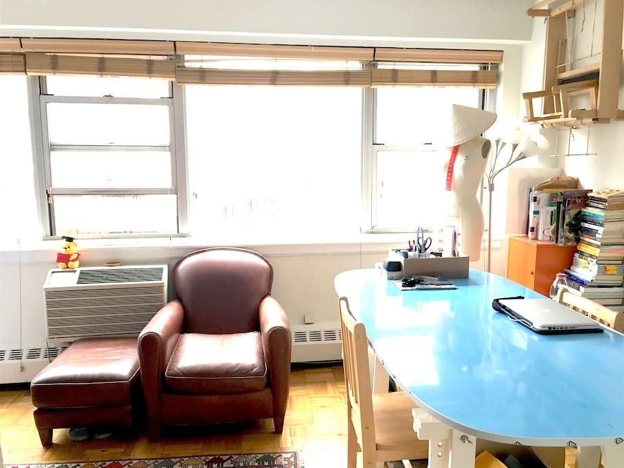 Dining Table & Study Area