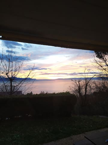 Paradise Lake View in Lavaux With Garden