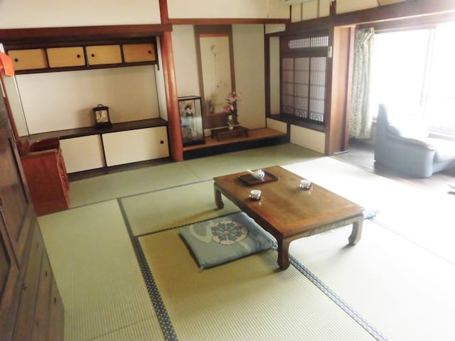 "The town house ""Machiya"" dating back 115 years"