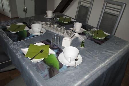 Sonnige, helle Dachgeschoßwohnung im Pfälzer Wald - Kirchheimbolanden - 住宿加早餐
