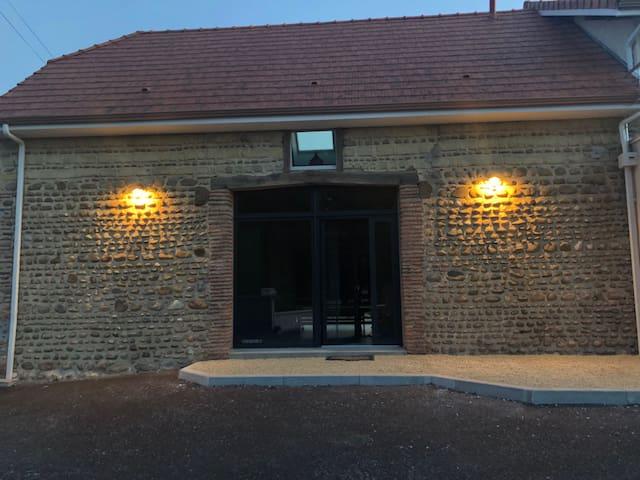 Gîte des 3 Tilleuls grange rénovée pour 2 à 5 pers