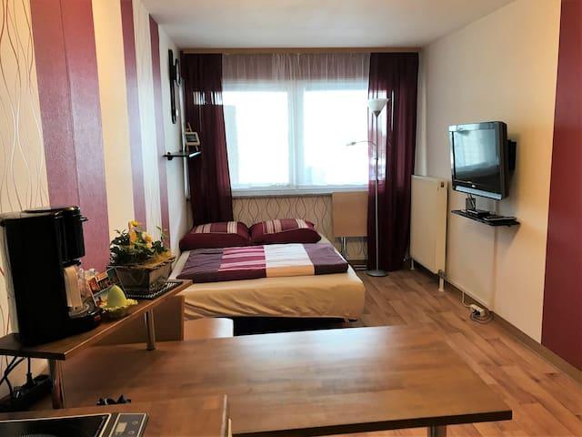 Ruhig gelegenes, möbliertes Zimmer mit Wohnküche