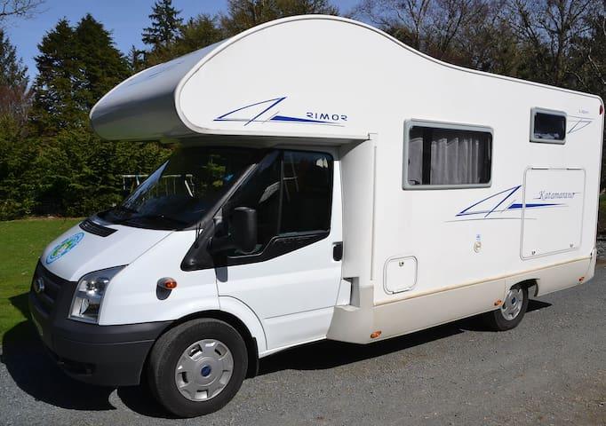 Isle of Mull Camper Vans - Bertha - Tobermory - Autocaravana