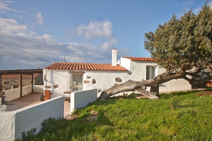 Sardisches Bauernhaus in der Natur mit Meerblick - Santa Teresa di Gallura