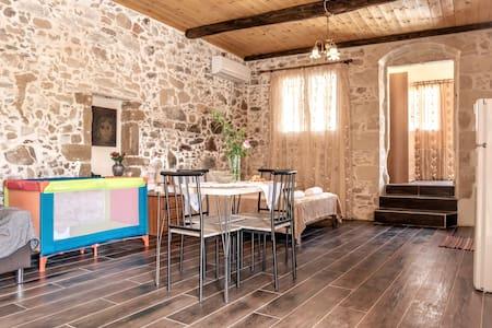 THE STONE HOUSE OF IAKOVOS NEAR TO BALOS,ELAFONISI