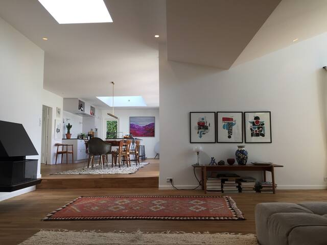 Mid-Century House 10 min. from CPH. - Gentofte - Rumah