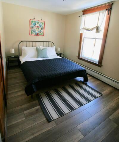 Charming Charlottetown Farmhouse: Blue Jay Room