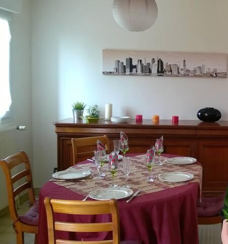 Grande Chambre, Wifi, Parking, Rennes Métropole - Vern-sur-Seiche - Dům