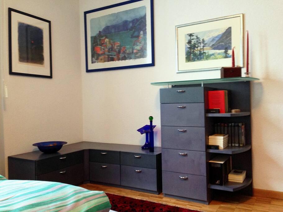 Ein komfortables Zimmer für eine oder zwei Personen.