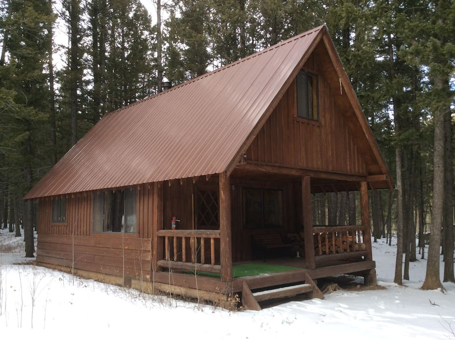 Teton cabin rocky mountain front cabins for rent in for Teton cabin rentals